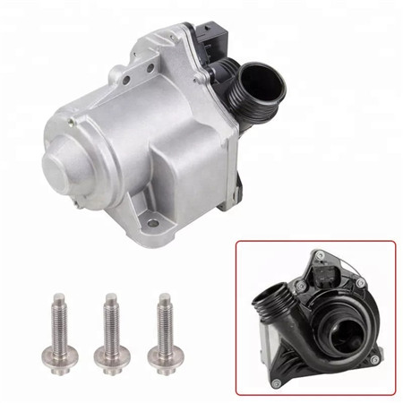 Brushless DC automotive radiator cooling electrical water pump