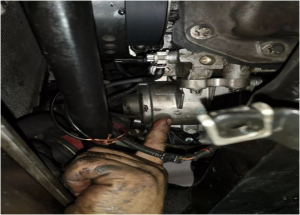 BMW electric water pump replacement method